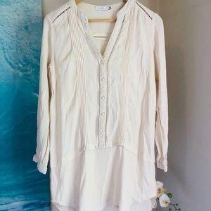 LUSH Long sleeve tunic blouse S.
